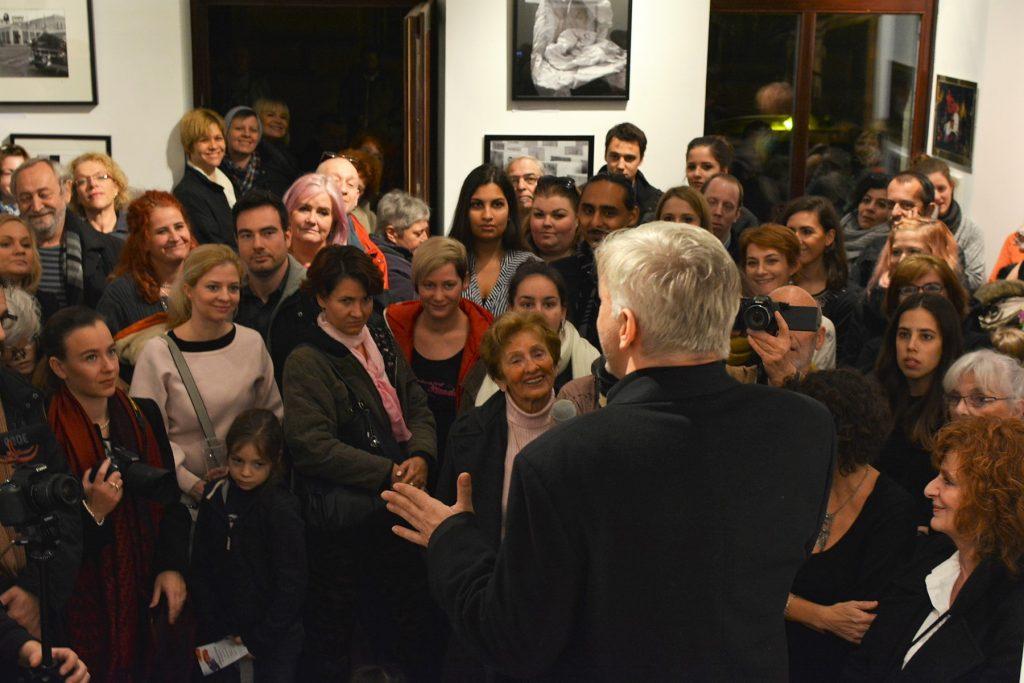 A 2017-es kiállítást megnyitotta: Alföldi Róbert
